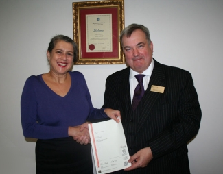 Stevie Glover, Diploma In Funeral Celebrancy